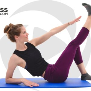 10 Minute Abs, Butt and Thigh Workout - Pilates Workout with No Equipment