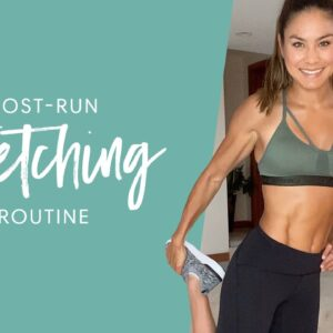 The Perfect Post-Run Stretching Routine| Tone It Up