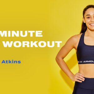 20-Minute Bodyweight HIIT Workout With Charlee Atkins