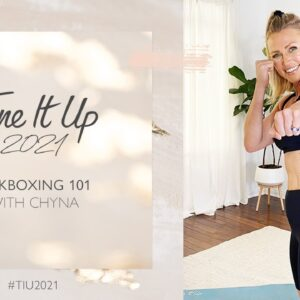 Tone It Up | Kickboxing 101 With Trainer Chyna