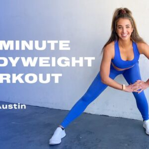 10-Minute All-Levels Bodyweight Cardio and Toning Circuit Workout