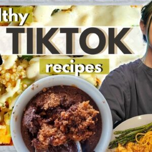 I ONLY Ate TikTok Recipes for a Day (What I Eat in a Day - Vegan)