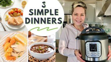 Three Whole30 Instant Pot Dinners // COOK WITH ME