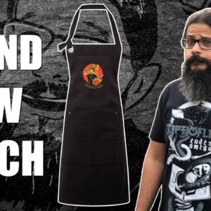 BIG UPDATE - We've finally launched LIMITED EDITION Headbanger's Kitchen APRONS