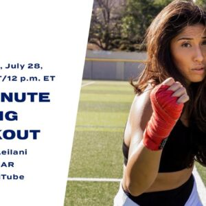 30-Minute Boxing Workout With Leila Leilani