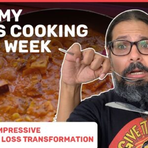 Week 12 -  I ate my wife's cooking for a week