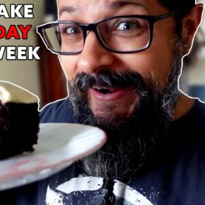 Week 8 - I ate cake everyday for an entire week