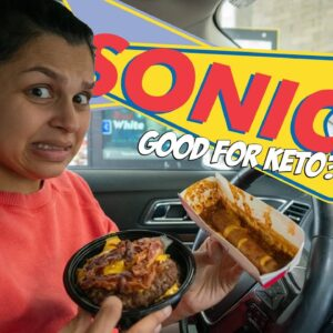 Keto at Sonic Drive In... Delightful or Disaster?