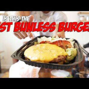 The Search For The BEST Bunless Burger... Must Try This One!