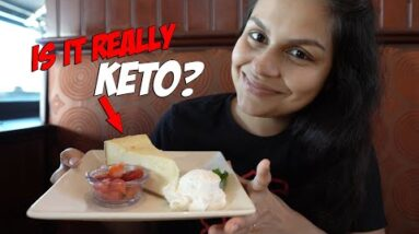 We Found the Best Family Restaurant for Keto! Low Carb Cheesecake?