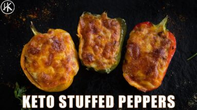 You must try these KETO STUFFED BELL PEPPERS they make an epic meal!